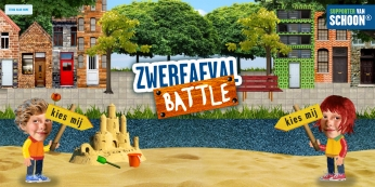 Game: Zwerfafval Battle